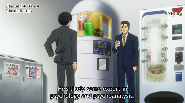 he's likely some expert in psychology and psychoanalysis